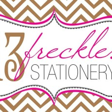 13 Freckles Stationery